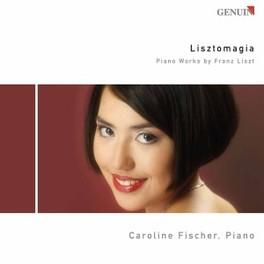 LISZTOMAGIA FISCHER, CAROLINE Audio CD, F. LISZT, CD