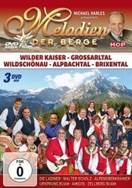 MELODIEN DER BERGE LADINER/WALTER SCHOLZ/URSPRUNG BUAM/GRUBERTALER. V/A, DVD
