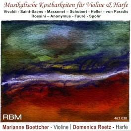 MUSICAL TREASURES FOR HAR WORKS BY VIVALDI/SAINT-SAENS/MASSENET BOETTCHER/REETZ, CD