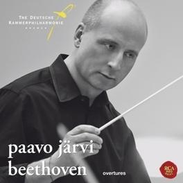 OVERTURES DEUTSCHE KAMMERPHILHARMONIE BREMEN/PAAVO JARVI L. VAN BEETHOVEN, CD