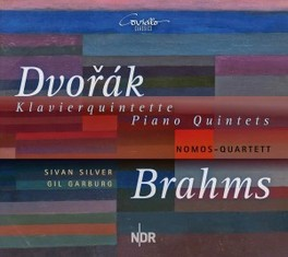 PIANO QUINTET IN A MAJOR NOMOS QUARTETT DVORAK/BRAHMS, CD
