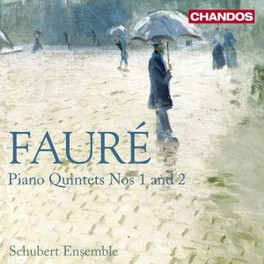 PIANO QUINTETS NOS.1 & 2 SCHUBERT ENSEMBLE Audio CD, G. FAURE, CD