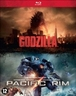 Godzilla/Pacific rim, (Blu-Ray) BILINGUAL //CAST: AARON TAYLOR-JOHNSON, IDRIS ELBA