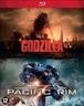 Godzilla/Pacific rim, (Blu-Ray) BILINGUAL //CAST: AARON TAYLOR-JOHNSON, IDRIS ELBA