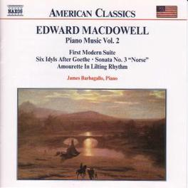 PIANO WORKS VOL.2 E. MACDOWELL, CD