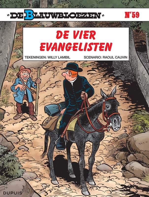 BLAUWBLOEZEN 59. DE VIER EVANGELISTEN BLAUWBLOEZEN, LAMBIL, WILLY, CAUVIN, RAOUL, Paperback
