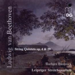 STRING QUINTETS OP.4 & 29 LEIPZIGER STREICHQUARTETT/BARBARA BUNTROCK L. VAN BEETHOVEN, CD