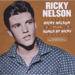 RICKY NELSON + SONGS BY.. .. RICKY RICKY NELSON, CD