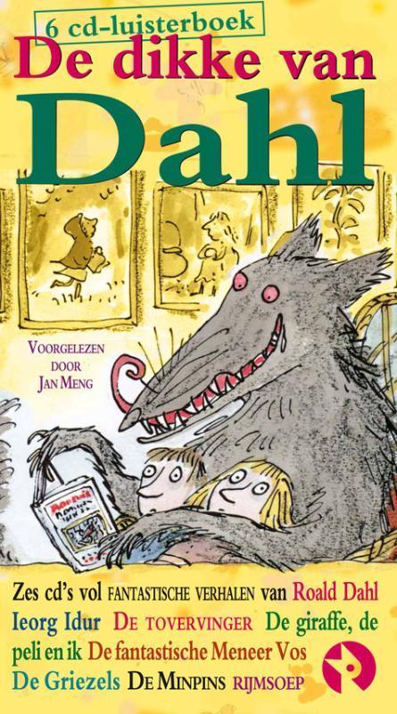 De dikke van Dahl DOOR JAN MENG 6 cd-luisterboek, Roald Dahl, onb.uitv.