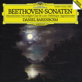 PIANO SONATAS/PATHETIQUE MOONLIGHT W/DANIEL BARENBOIM Audio CD, L. VAN BEETHOVEN, CD