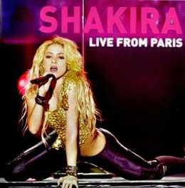 LIVE FROM PARIS -CD+DVD- SHAKIRA, CD
