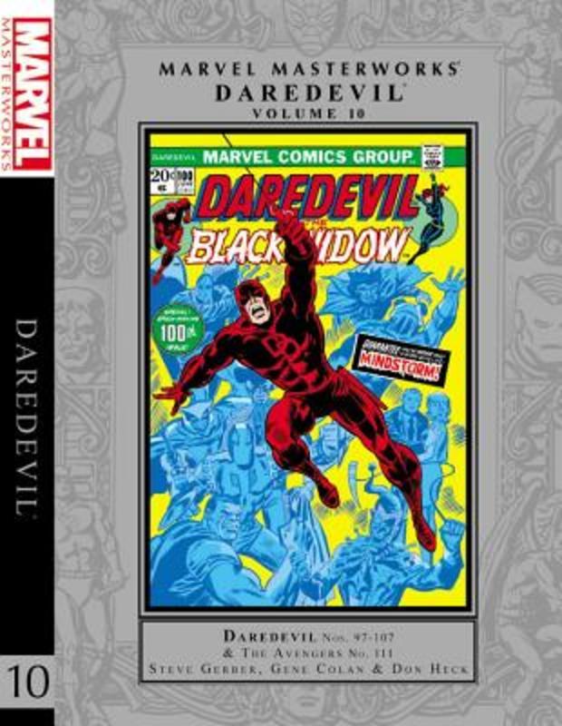 Marvel Masterworks: Daredevil Vol. 10. Daredevil Vol. 10, Gerber, Steve, Hardcover
