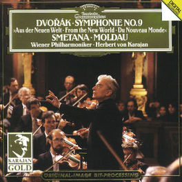 SYMPHONY NO. 9/DIE MOLDAU WP/KARAJAN Audio CD, DVORAK & SMETANA, CD