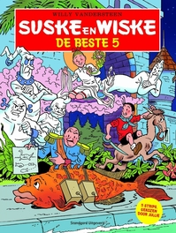 De beste 5 SUSKE EN WISKE BESTE, Willy Vandersteen, Paperback