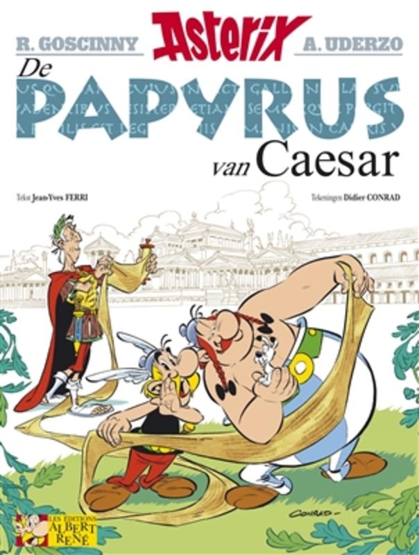 ASTERIX 36. DE PAPYRUS VAN CAESAR ASTERIX, Uderzo, Albert, Paperback
