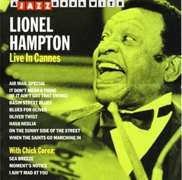 LIVE IN CANNES Audio CD, LIONEL HAMPTON, CD