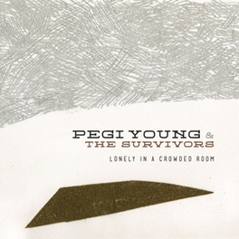 LONELY IN A CROWDED ROOM PLUS DOWNLOAD CARD YOUNG, PEGI & THE SURVIVO, Vinyl LP