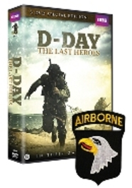 D-Day The Last Heroes (3 dvd) + metalen Jump Wing