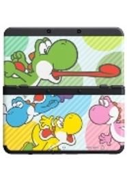 Nintendo New Nintendo 3DS, Coverplate 028 Multicolor Yoshi's (2214866)