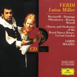 LUISA MILLER W/PLACIDO DOMINGO, KATIA RICCIARELLI, MAAZEL, COVENT GA Audio CD, G. VERDI, CD