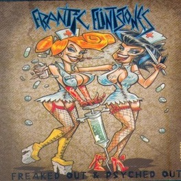 FREAKED OUT & PSYCHED OUT FRANTIC FLINTSTONES, CD