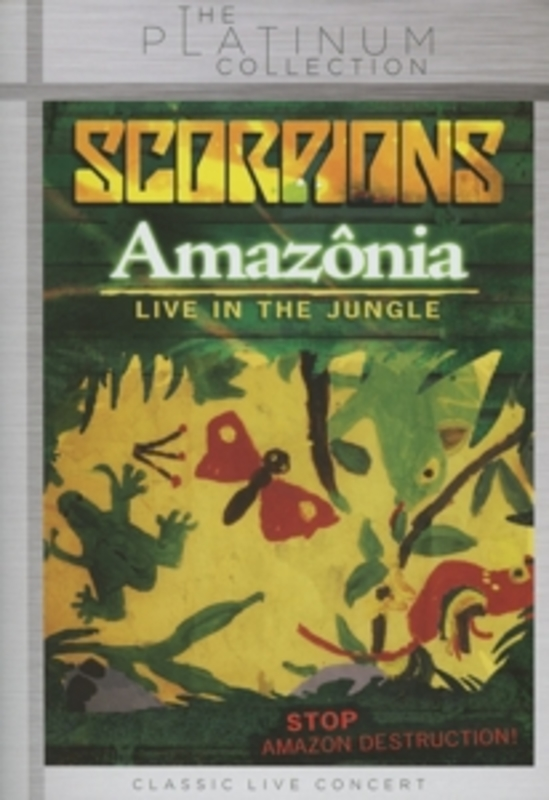 AMAZONIA-LIVE IN THE.. .. JUNGLE / MANAU, BRASIL, AUGUST 9, 2007 / PAL/REG 0 SCORPIONS, DVDNL