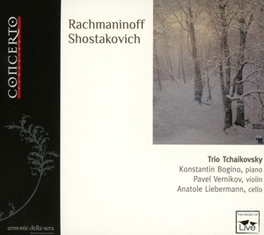 TRIO ELEGIAQUE NO.2 BOGINO/VERNIKOV/LIEBERMANN RACHMANINOV/SHOSTAKOVICH, CD