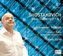 PIANO CONCERTOS 1 & 2 FRANKFURT RSO/PAAVO JARVI D. SHOSTAKOVICH, CD