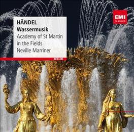 WATER MUSIC NEVILLE MARRINER G.F. HANDEL, CD