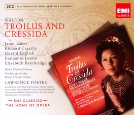 TROILUS AND CRESSIDA LAWRENCE FOSTER/BAKER/CASSILY W. WALTON, CD