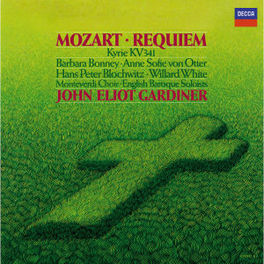 REQUIEM KV 626 BONNEY/ENGLISH BARQ.SOLOISTS/GARDINER Audio CD, W.A. MOZART, CD