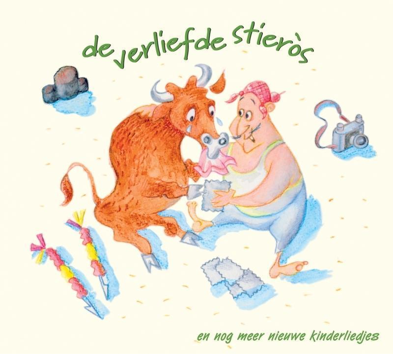 DE VERLIEFDE STIEROS Audio CD, CHILDREN, CD