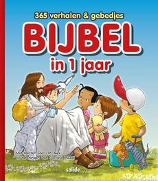 Bijbel in 1 jaar. laat de kinderen tot mij komen; 365 verhalen en gebedjes, L.M. Alex, Hardcover  <span class=