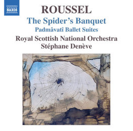 SPIDER'S BANQUET ROYAL SCOTTISH NAT.ORCHESTRA A. ROUSSEL, CD