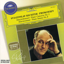 PIANO CONCERTO NO.5 OP.55 W/SVIATOSLAV RICHTER, WARSAW PHILHARMONIC ORCHESTRA Audio CD, S. PROKOFIEV, CD