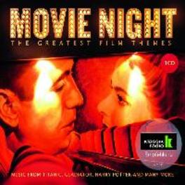 MOVIE NIGHT-GREATEST.. .. FILM THEMES//DAVE GRUSIN/THOMAS NEWMAN/HOB/PB/LAPO/+ OST, CD