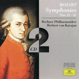 SYMPHONIES NOS.35-41 BP/KARAJAN Audio CD, W.A. MOZART, CD