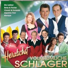 VOLKSTUMLICHE SCHLAGER.. .. SCHLAGER-HERZLICHST V/A, CD