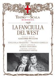 FANCIULLA DEL WEST VOTTO/FRAZZONI/CORELLI//*2CD + BOOK* G. PUCCINI, CD