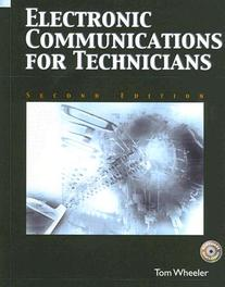 Electronic Communications For Technicians Tom, Wheeler, Hardcover