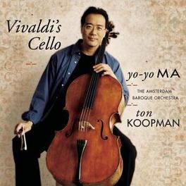 VIVALDI'S CELLO -REMAST- REMASTERED MA, YO-YO, CD