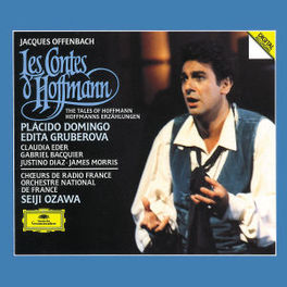 TALES OF HOFFMAN (COMPLET DOMINGO/ORCH.NAT.DE FRANCE/OZAWA Audio CD, J. OFFENBACH, CD