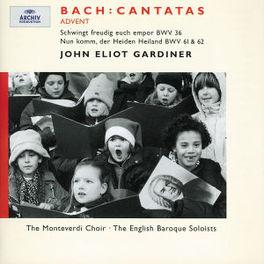 ADVENT CANTATAS W/ARGENTA, LANG, MONTEVERDI CHOIR, EBS, GARDINER Audio CD, J.S. BACH, CD
