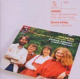 9 GERMAN ARIAS HWV 202-21 LONDON BAROQUE/EMMA KIRKBY G.F. HANDEL, CD