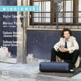 VIOLIN CONCERTOS 1 & 2 Audio CD, MARIUSZ PATYRA, CD