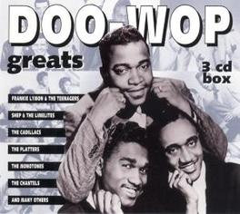 DOO-WOP GREATS W/DUBS/GLADYS KNIGHT & THE PIPS/DELLS/PLATTERS/SPANIELS Audio CD, V/A, CD