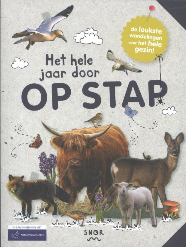 Het hele jaar door Op Stap de leukste wandelingen voor het hele gezin, Piers, Annemarieke, Hardcover