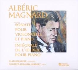 SONATE POUR VIOLONCELLE E ALAIN MEUNIER/P.G.HERBERT A. MAGNARD, CD
