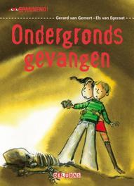 Ondergronds gevangen Van Gemert, Gerard, Hardcover
