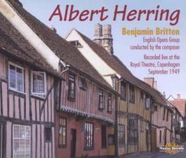 ALBERT HERRING ENGLISH OPERA GROUP/BENJAMIN BRITTEN Audio CD, B. BRITTEN, CD